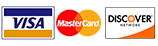 Visa, MasterCard and Discover Credit Cards